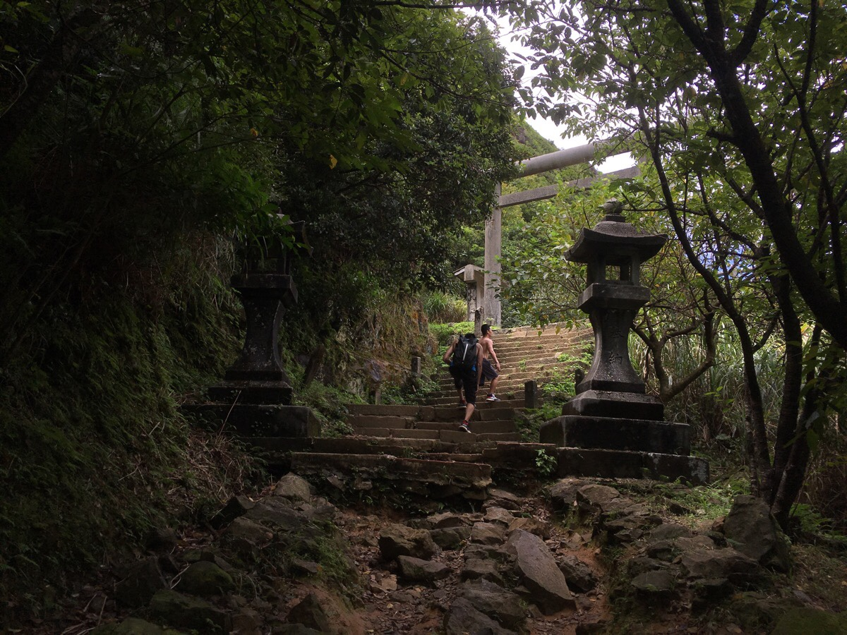 Ogon Shinto shrine at Jinguashi